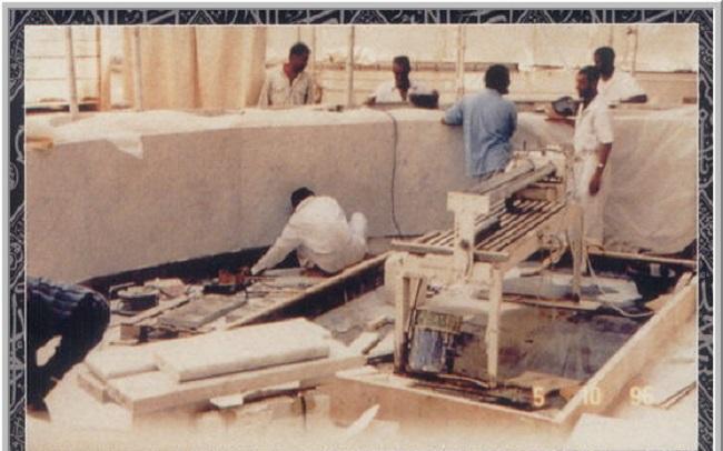 عملية ترميم الكعبة المشرفة في عهد الملك فهد