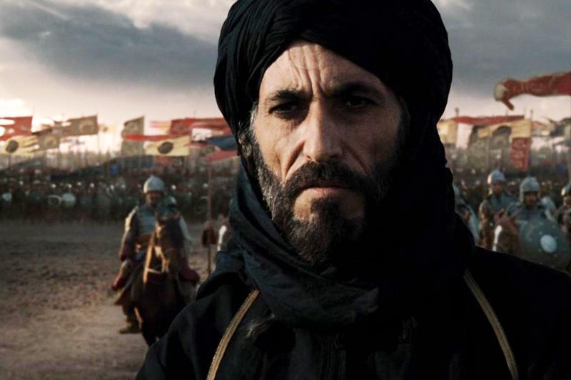 غسان مسعود في فيلم مملكة السماء إنتاج عام 2005